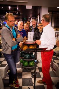 Demo van MotionView mobiel systeem op Conferentie van de ETBF in Kuortane in Finland.
