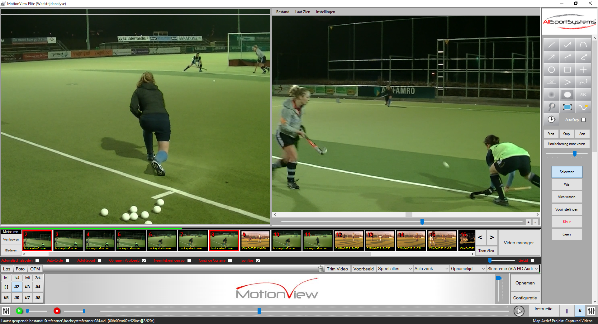 MotionView - Hockey - Video Analyse Software