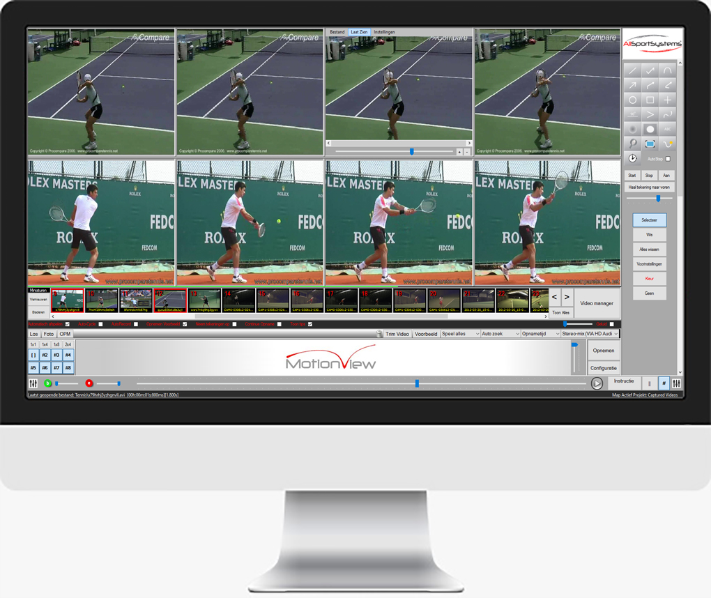 MotionView - Video motion analysis software and coaching systems for sports and the mechanics of motion.