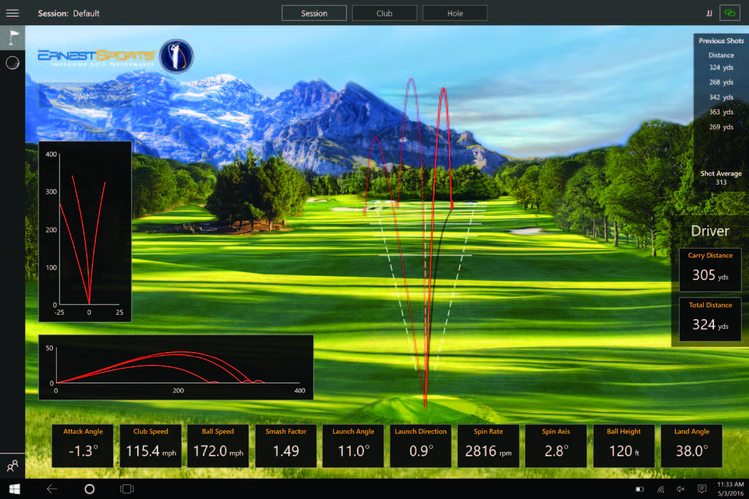 Home Golf Simulator Biedt De Beste Manier Om Uw Golfspel
